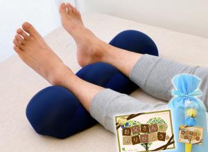 <王様の足枕>毎日仕事で疲れているお父さんに♪ふんわり柔らかい超極小ビーズの足枕