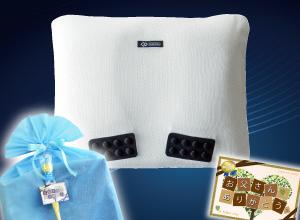 <コラントッテピロー MAG-RA LITE>磁石の力でコリを緩和♪医療機器認可取得済み枕