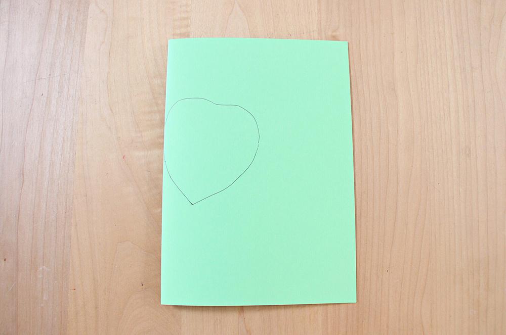 父の日 ひまわりのお花でメッセージカード