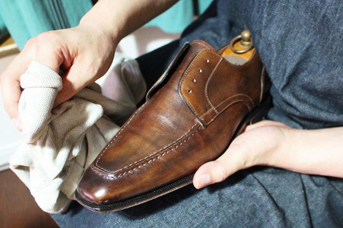 【父の日ギフト】靴磨き