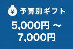 5,000円~7,000円未満
