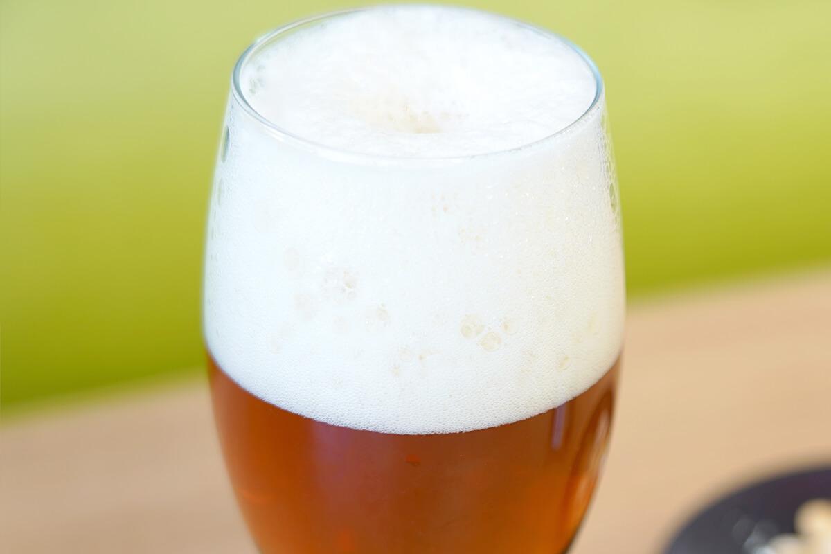 THE軽井沢ビール キメの細かいクリーミィな泡